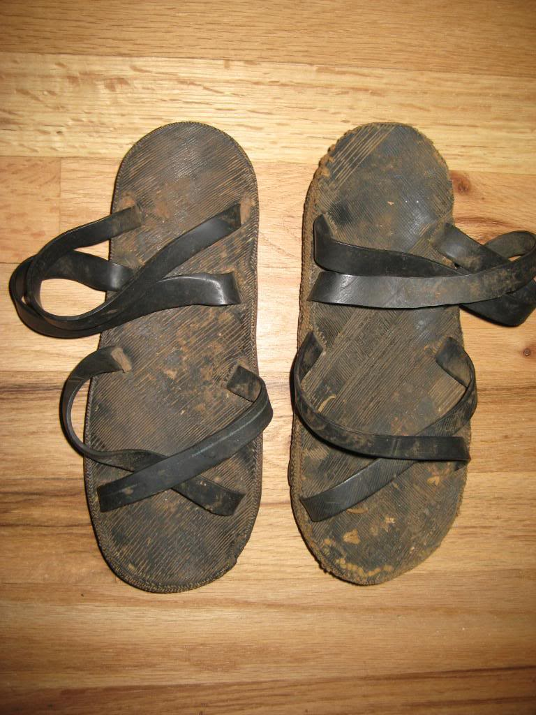Vietcong rubber sandals