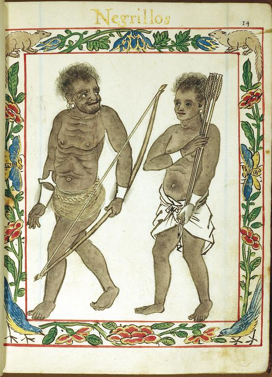 Boxer codex Negritos