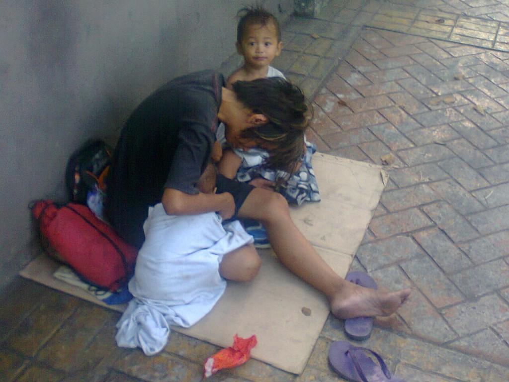 A virgin mother of Timog Avenue