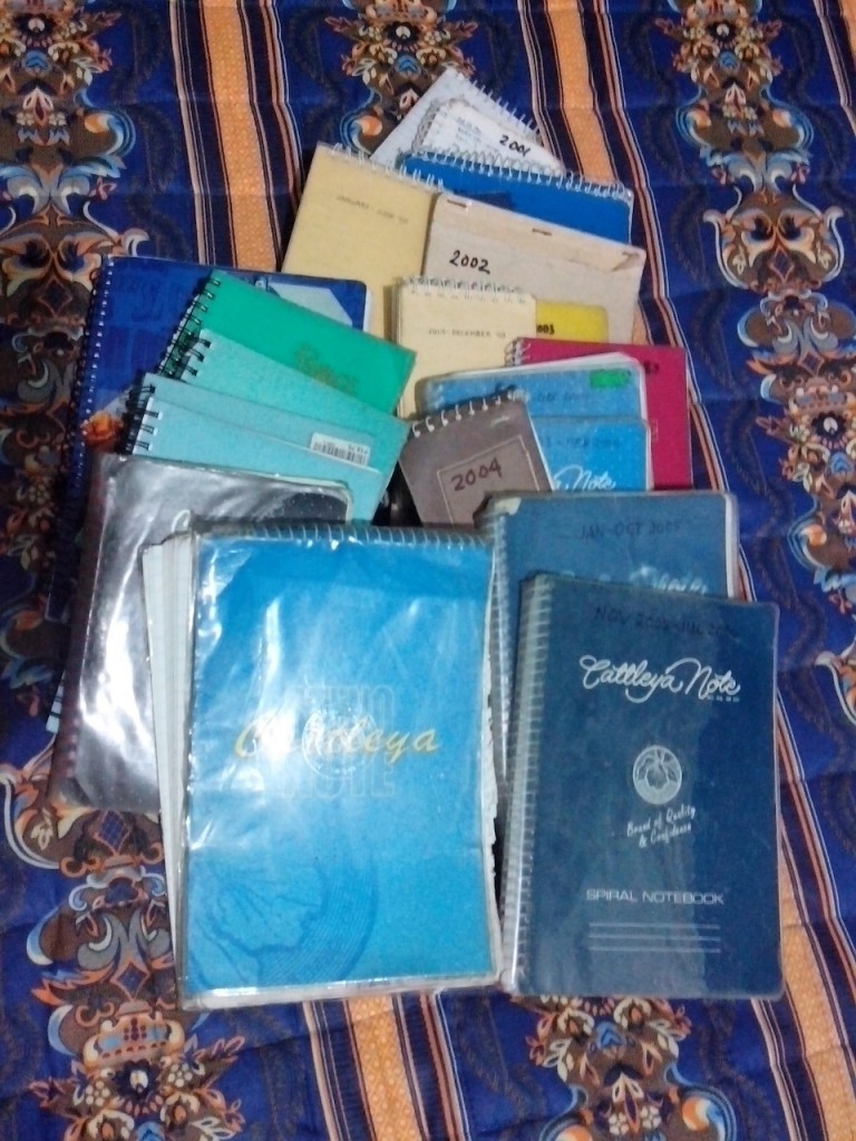 Notebook journals