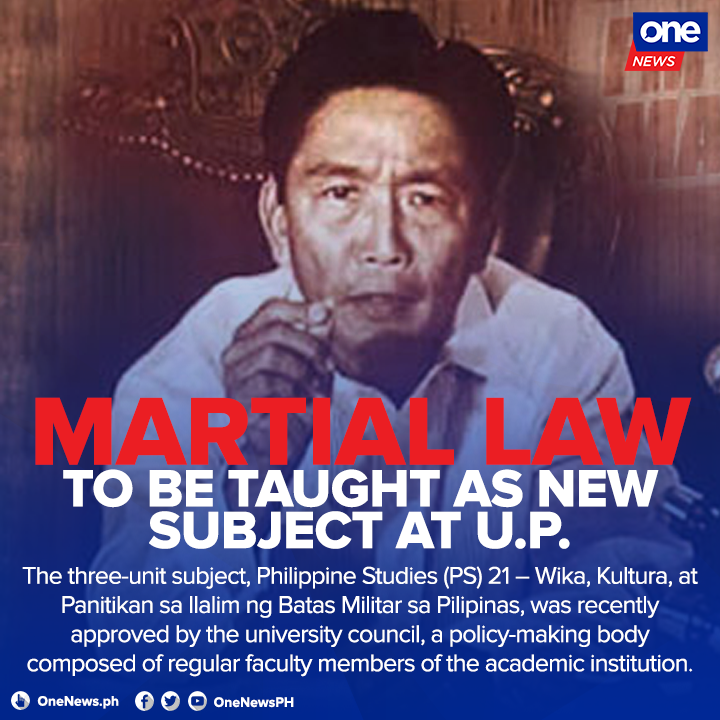 Martial Law subject in UP
