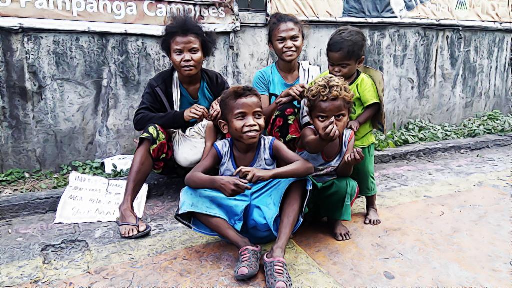 Homeless Dumagat in Metro Manila