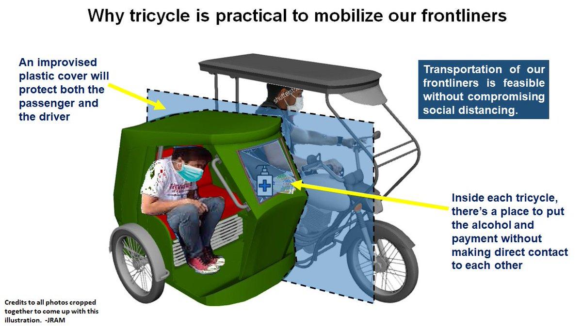 post-lockdown tricycle